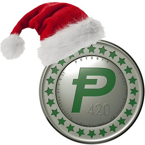 Happy Holidays from PotCoin